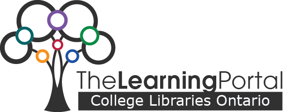 The Learning Portal logo and link